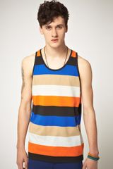 Cheap Monday Cheap Monday Joshua Striped Vest - Lyst