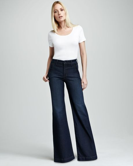 Not Your Daughter's Jeans Tori Sailor Pants Petite in Blue (burbank wash) - Lyst