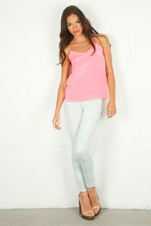 Tibi Silk CDC Cami Top - Lyst