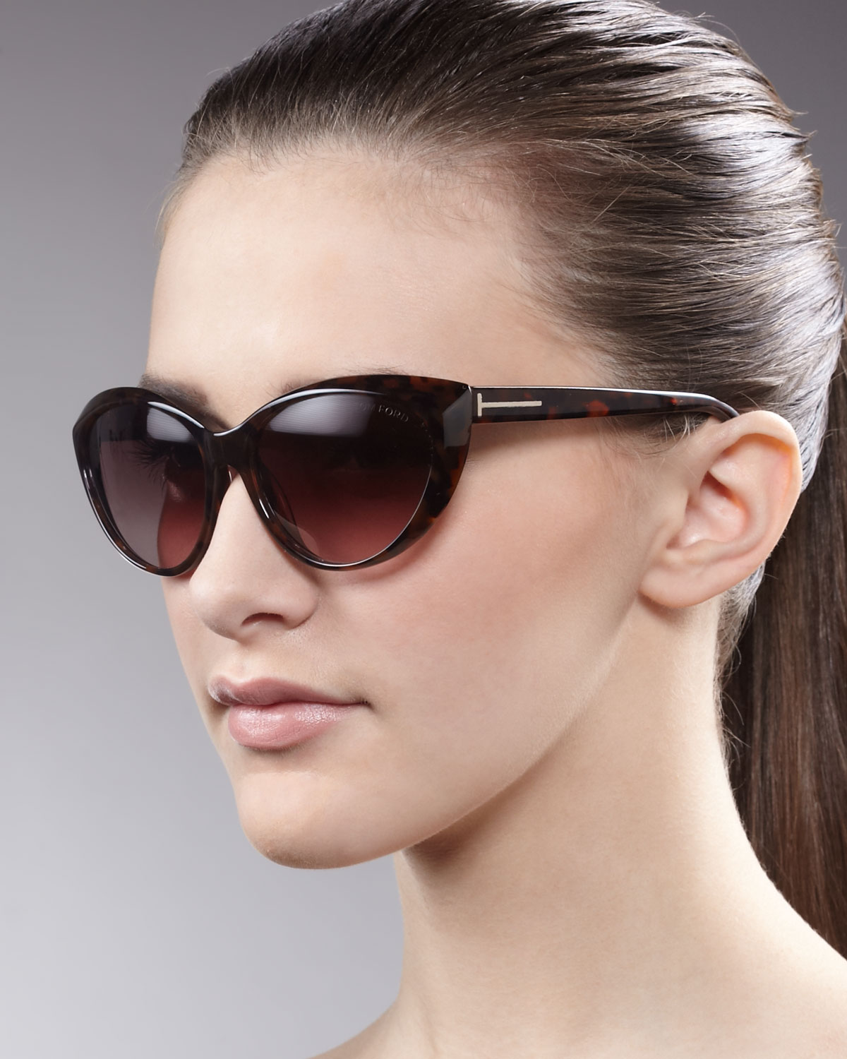 b3215390a3f Gallery. Previously sold at  Neiman Marcus · Women s Tom Ford Alicia Women s  White Sunglasses ...