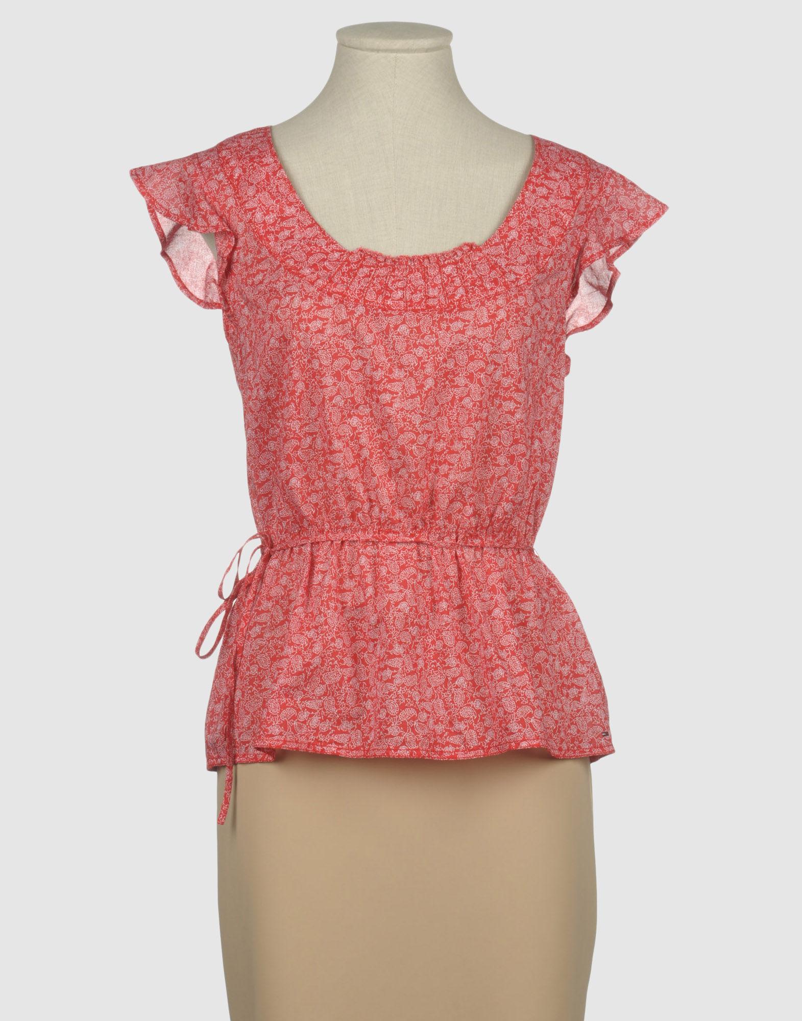 denim blouse tommy hilfiger smart casual blouse. Black Bedroom Furniture Sets. Home Design Ideas