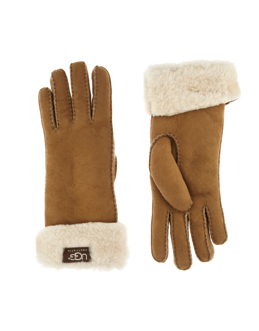 c125585fe03 Ugg Turn Cuff Gloves Chocolate - cheap watches mgc-gas.com