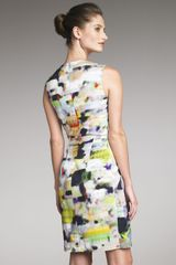 Yigal Azrouel Abstract-print Dress - Lyst