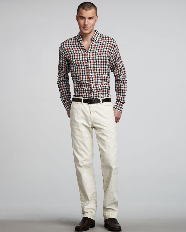 be336108f0266e Chino Pants White Shirt – DACC