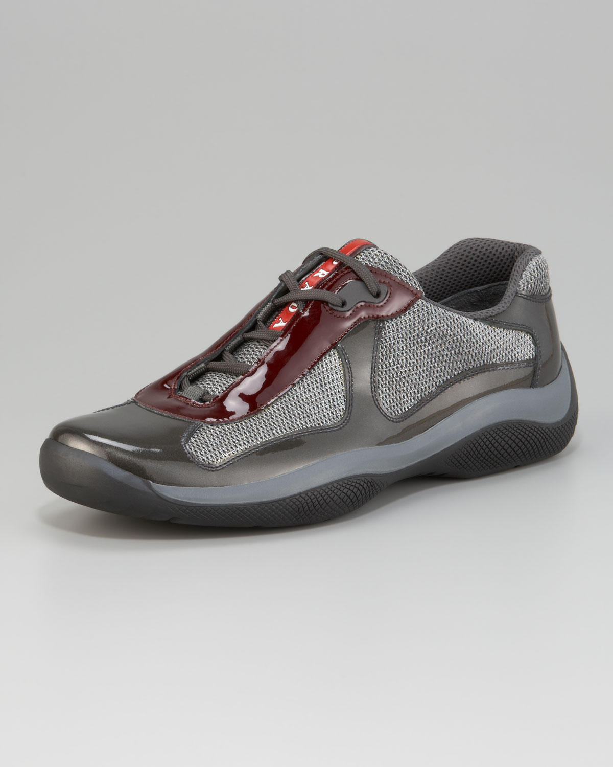Mens Leather Prada Shoes