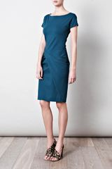 Diane Von Furstenberg Rika Dress in Blue (teal) - Lyst