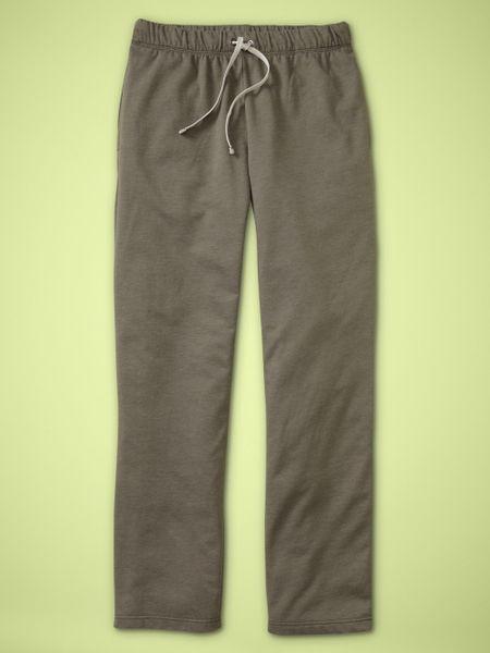 Gap Lounge Pants In Green For Men Moss Green Lyst