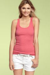 Gap Sleeveless Top With Detachable Panel in Antique White - Lyst