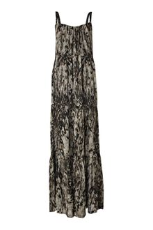 Label Lab Tiered Printed Maxi Dress - Lyst