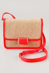 Marc By Marc Jacobs Solid Straw Janes Friend Elaine Bag - Lyst