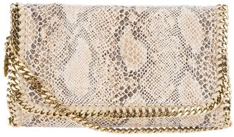 Stella McCartney Falbo Eco Snake Bag - Lyst