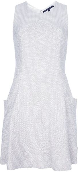 Theyskens' Theory Pocket Dress in White - Lyst