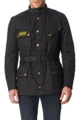 Barbour International Quilted Jacket - Lyst