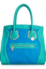 Big Buddha Skye Satchel in Blue - Lyst