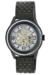 Breil  Automatic Orchestra Black Ion Plated Stainless Steel Bracelet - Lyst