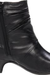 Clarks Clarks Womens Leyden Crest Boot in Black (black leather) - Lyst