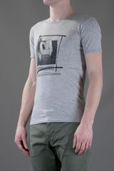 Dolce & Gabbana Cotton Tshirt in Gray for Men (grey) - Lyst