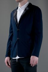 Giorgio Armani Two Button Blazer in Blue for Men - Lyst