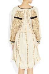 Isabel Marant Kitti Woven Cotton Belt in Beige (cream) - Lyst