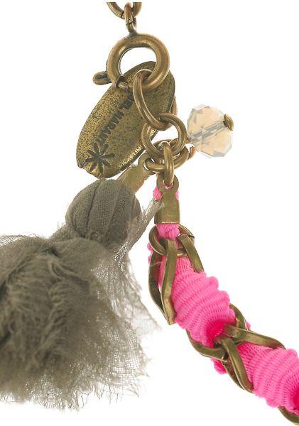 Isabel Marant Summertime Brass And Silk Tassel Bracelet In