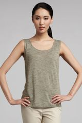 Lafayette 148 New York Basic Sleeveless Tank - Lyst