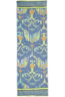 Matthew Williamson Ikat Faze Modal and Cashmereblend Scarf - Lyst