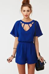 Nasty Gal Back Out Romper - Lyst