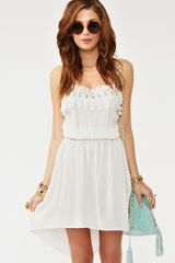Nasty Gal Crochet Tail Dress - Lyst