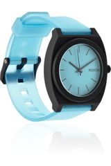 Nixon Time Teller Glowinthedark Rubber Watch - Lyst