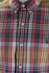 Polo Ralph Lauren Checked Shirt in Red for Men - Lyst