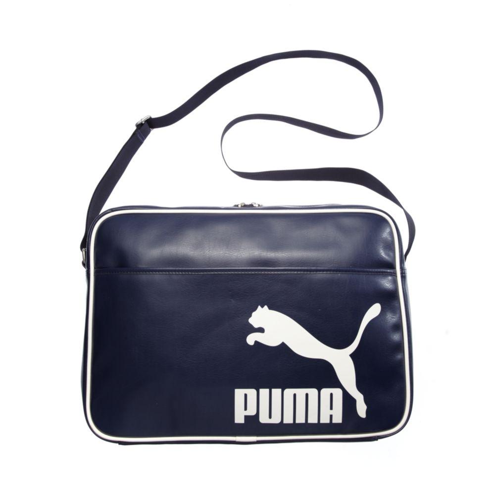 29cb5fd858ec Lyst puma heritage reporter messenger bag in blue jpg 1000x1000 Puma  heritage bag