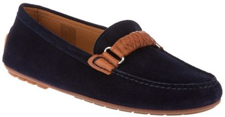Ralph Lauren Lada Loafer in Blue - Lyst
