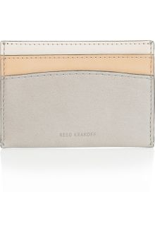Reed Krakoff Leather Card Holder - Lyst