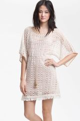 Sanctuary Poolside Crochet Tunic - Lyst