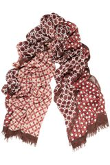 Stella McCartney Printed Modal and Silkblend Scarf - Lyst
