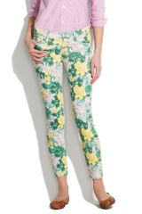 Textile Elizabeth And James Textile Elizabeth and James Low Rise Skinny Jeans in Tropical in Multicolor (tropical trop) - Lyst