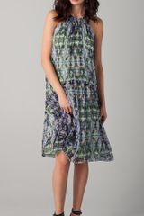 Tibi Layla Ikat Printed Dress - Lyst
