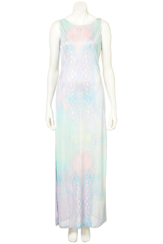 TopShop Marble Print Shift Dress