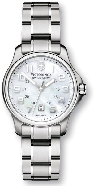 Victorinox Womens Stainless Steel Bracelet in Green (army) - Lyst