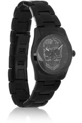 Zadig & Voltaire Coated Stainless Steel Skull Motif Watch - Lyst