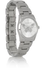 Zadig & Voltaire Stainless Steel Butterfly Motif Watch - Lyst