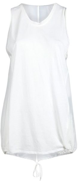 3.1 Phillip Lim Kite Wing Back Tank in White - Lyst