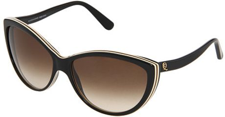 Alexander Mcqueen Acetate cateye frames with bowed arms in Brown (b) - Lyst