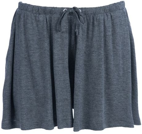 Cheap Monday Janey Short in Gray (grey) - Lyst