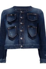 Dsquared2 Jacket in Blue - Lyst