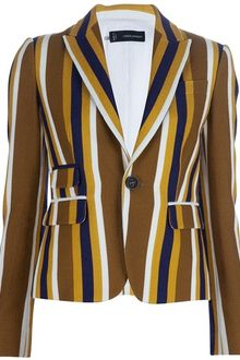 DSquared2 Striped Jacket - Lyst
