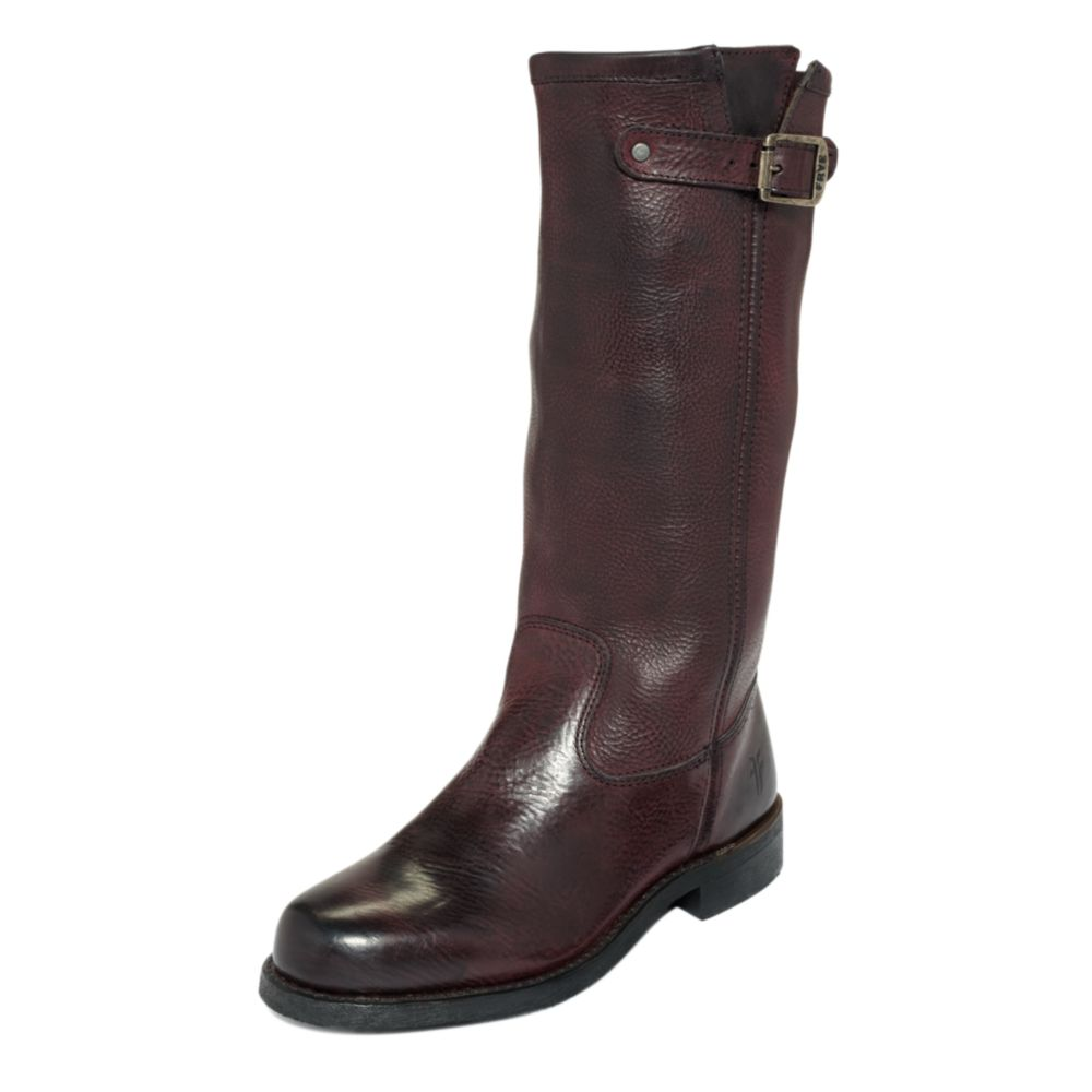 frye arkansas slouchy boots in brown brown lyst