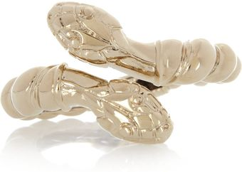 Giambattista Valli Gold-plated Double-Snake Bracelet - Lyst