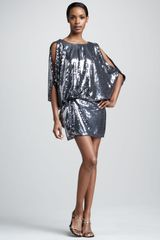 Julian Joyce By Mandalay Blouson Sequin Dress - Lyst