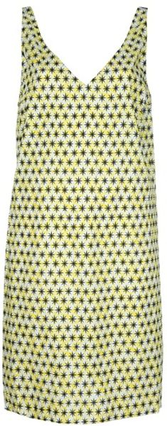 Marni Star Dress in Green - Lyst
